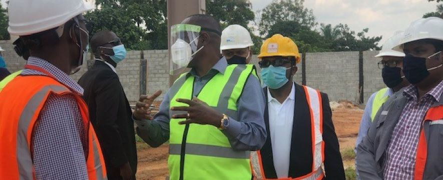 PSFU team visit to Mahathi Infra Uganda Limited