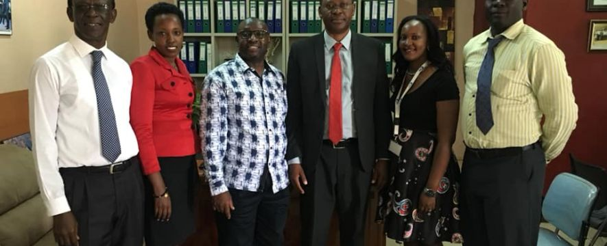 PSFU team pays a courtesy visit to Uganda Clearing Industry & Forwarding Association